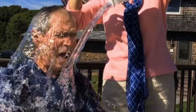 George Bush Ice Bucket