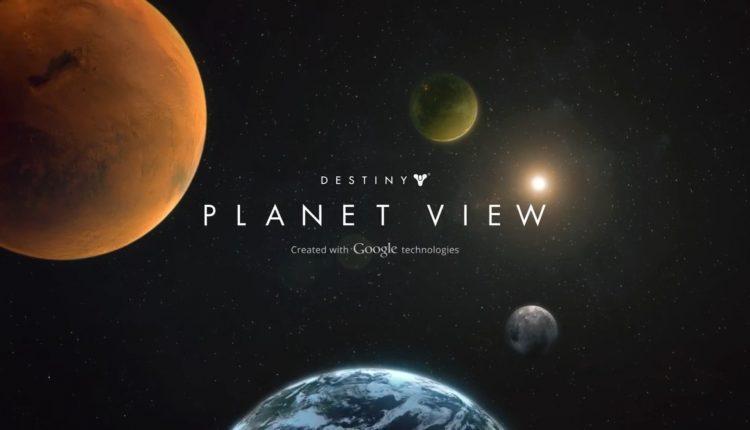 Destiny Google maps planet view (1)