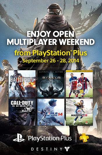 PlayStation Plus Free Weekend