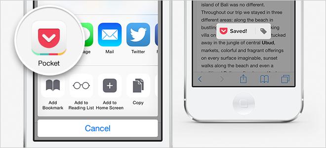iOS 8 Extensiones