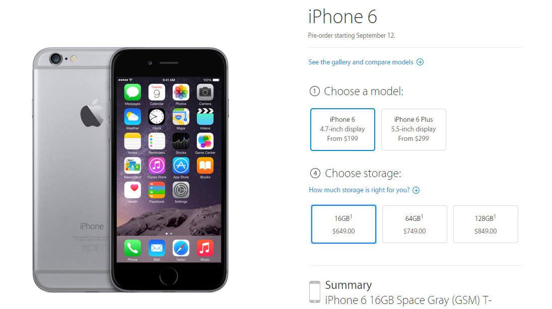iPhone 6 precio desbloquedo comprar