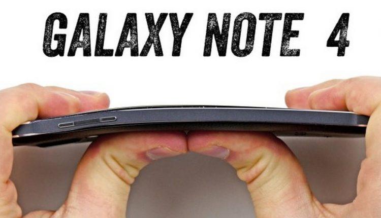 Galaxy note 4 Bendgate (1)
