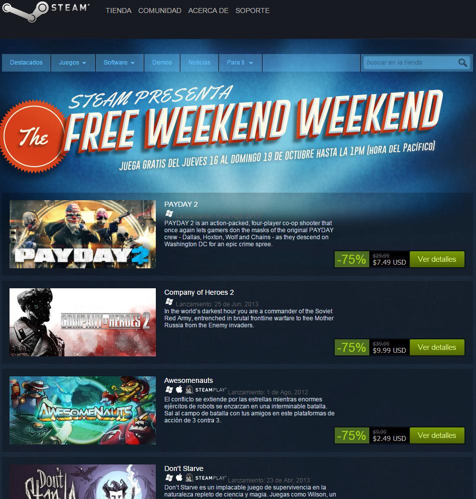 Steam Free Weekend Weekend (1)