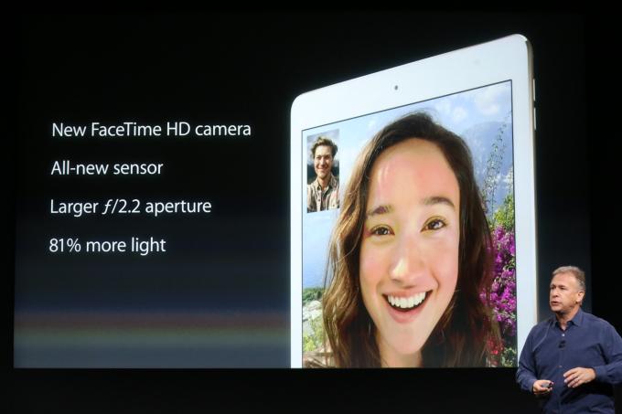iPad Air 2 Front Camera