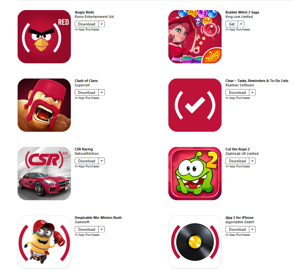 Apps for red (1)