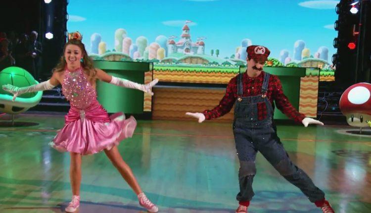 Baile Super mario bros. Dancing with the satrs (1)