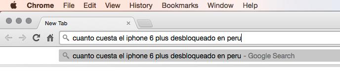 Chrome Busqueda Instant