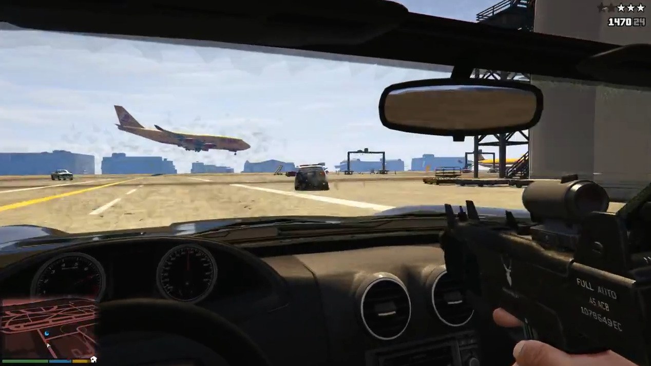 Grand Theft Auto V FPS First Person Shooter PC PS4 Xone (6)