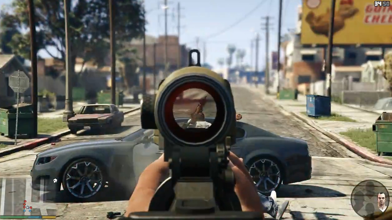 Grand Theft Auto V FPS First Person Shooter PC PS4 Xone (7)