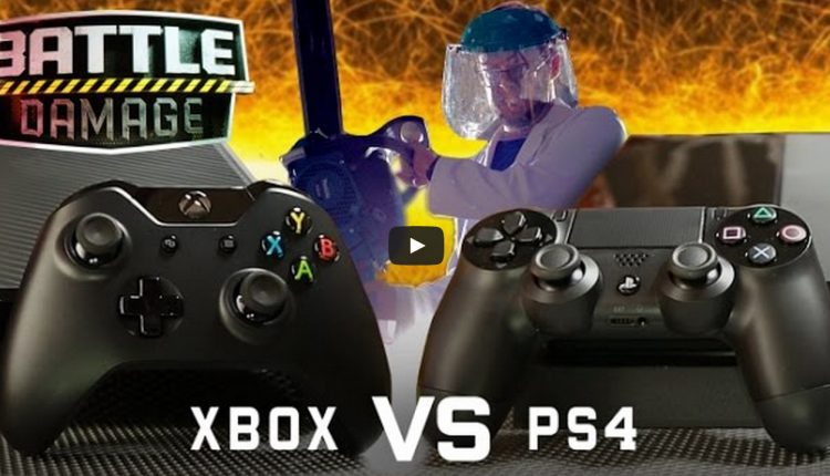 PS$ VS Xbox One drop test (3)