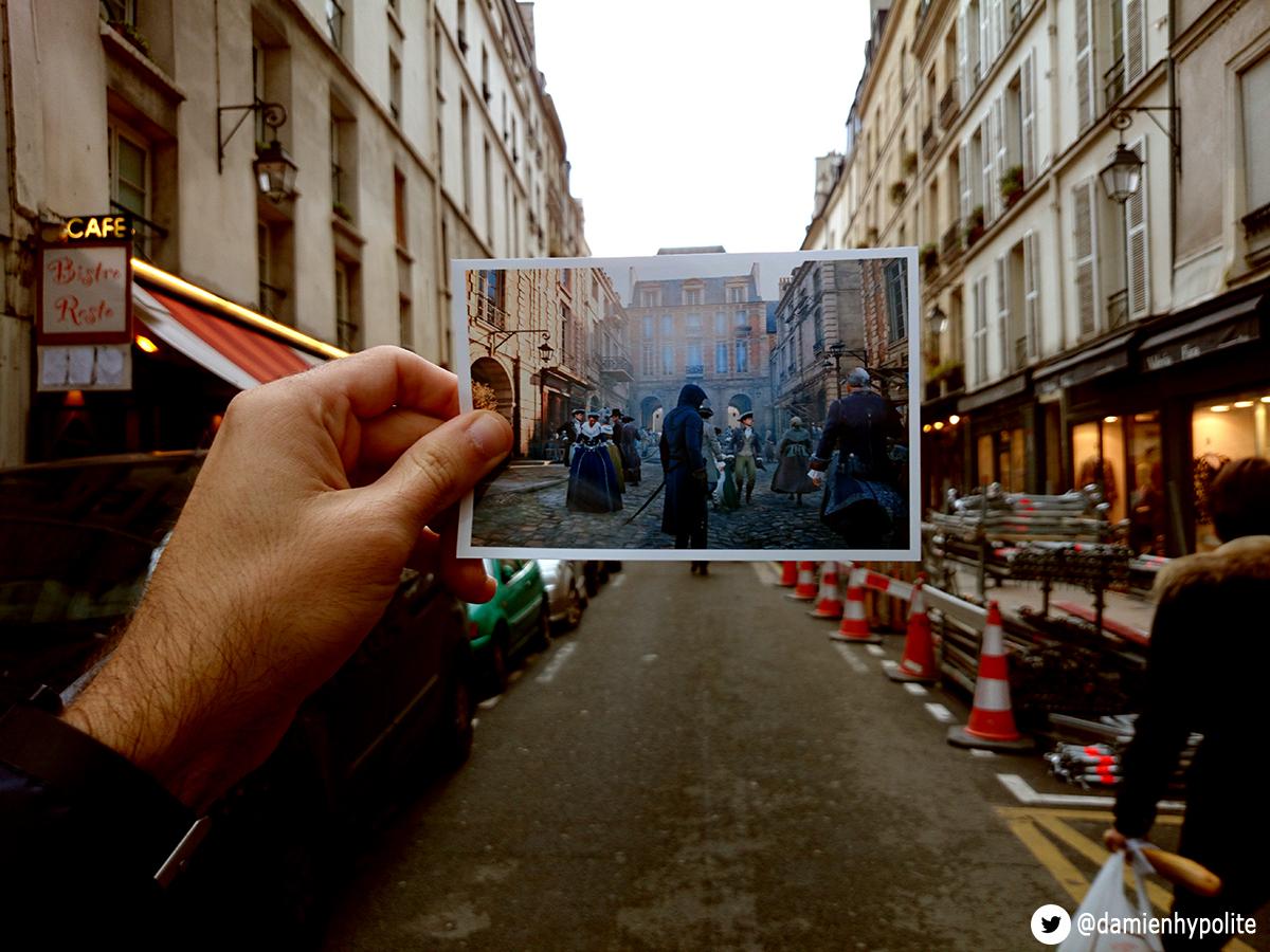 Assassin's Cred univty paris recreación (1)