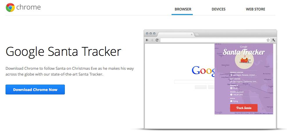 Santa-Tracker-Extension