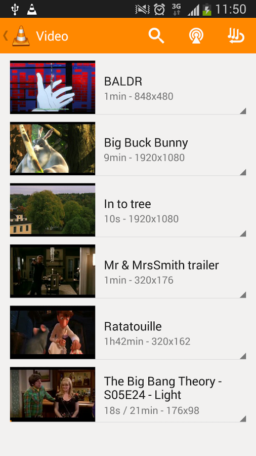 VLC for Android 007