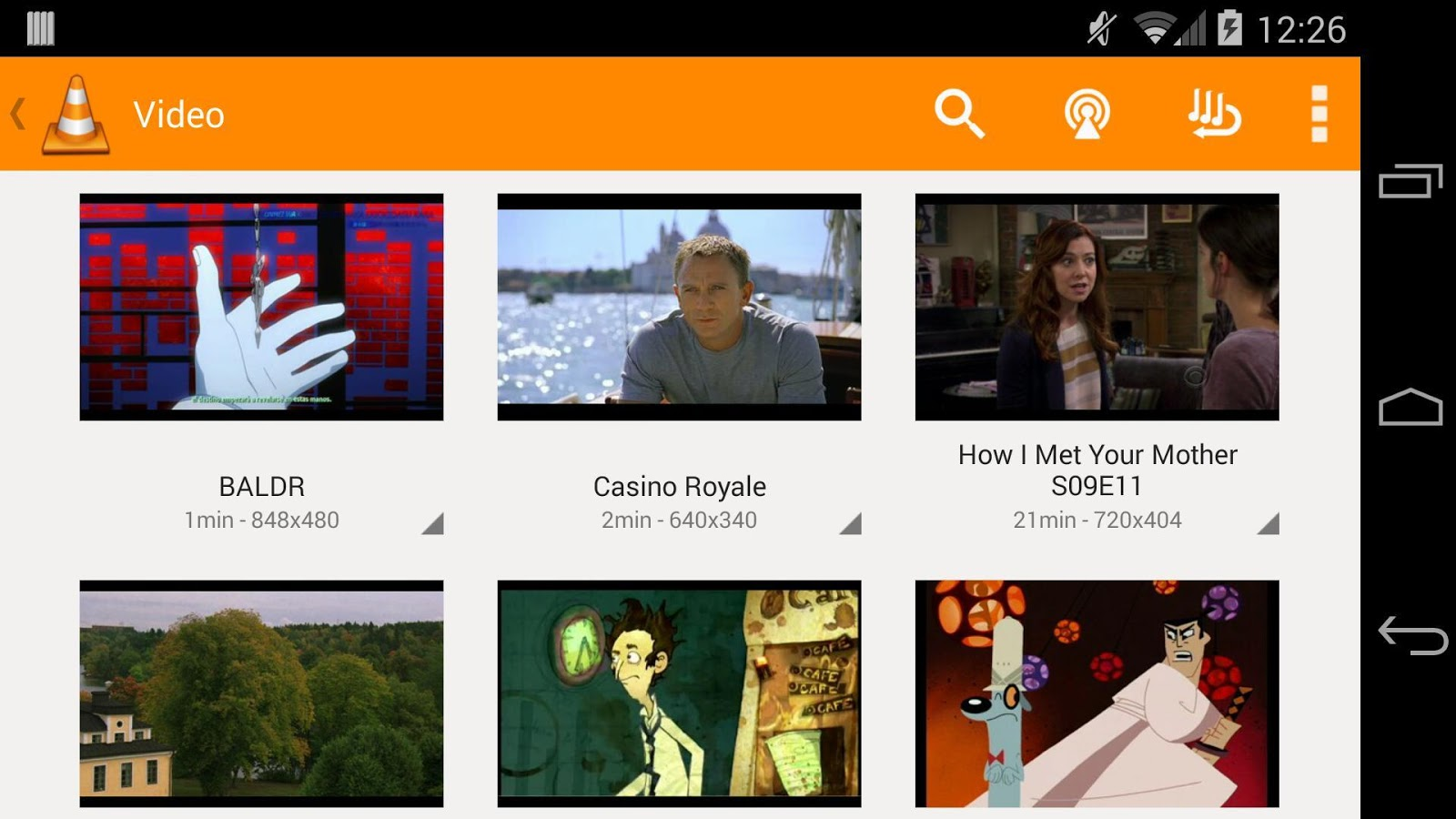 VLC for Android 009