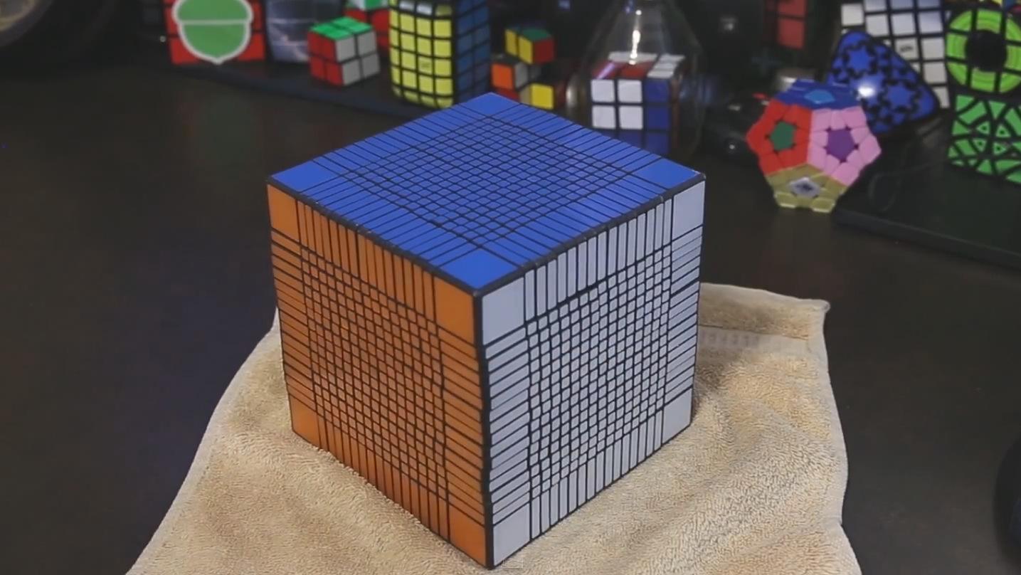 Resultado de imagen de cubo de rubik 17x17x17