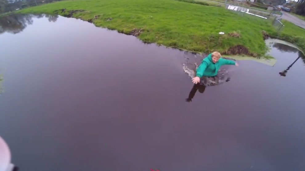Drone Save Funny Video 003