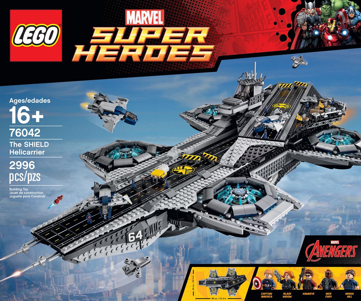 LEGO Marvel SHIELD UCS Helicarrier 76042-1 (10)