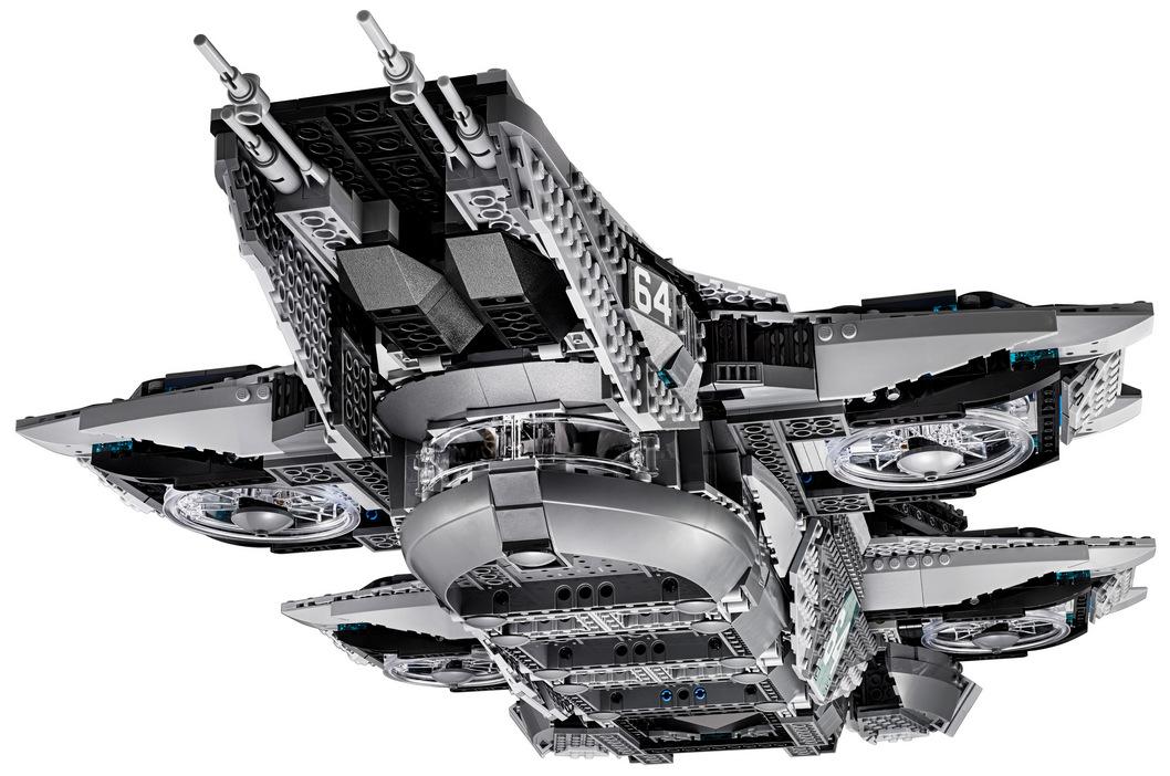 LEGO Marvel SHIELD UCS Helicarrier 76042-1 (2)