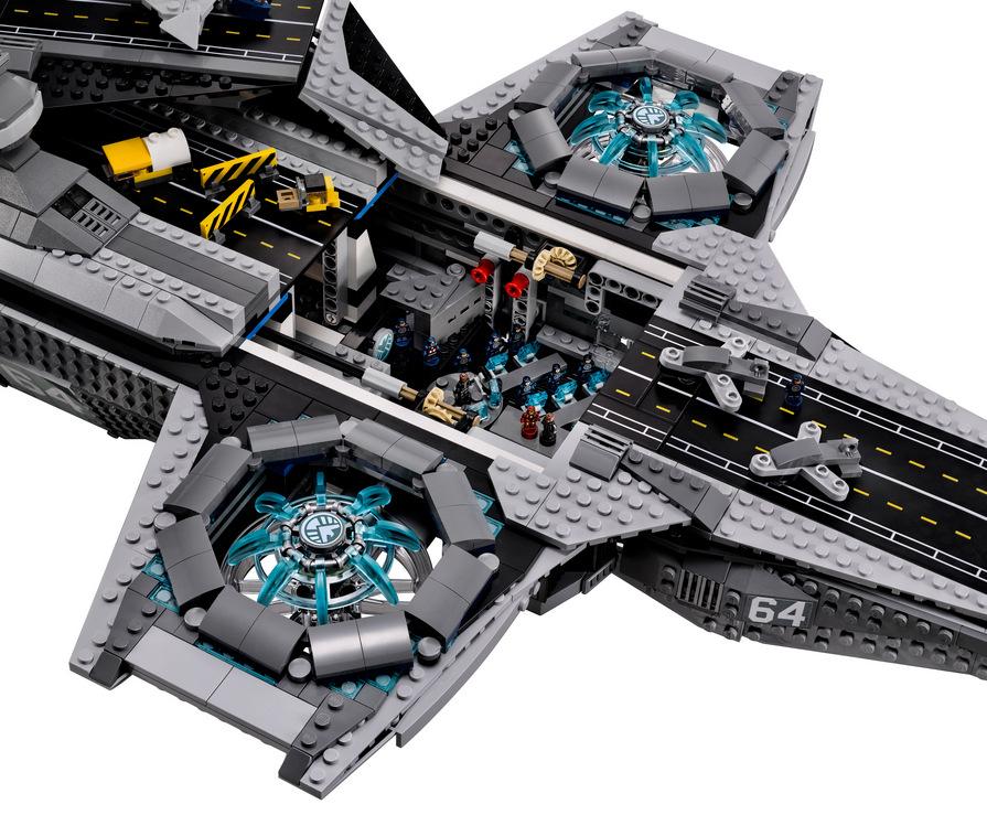 LEGO Marvel SHIELD UCS Helicarrier 76042-1 (4)