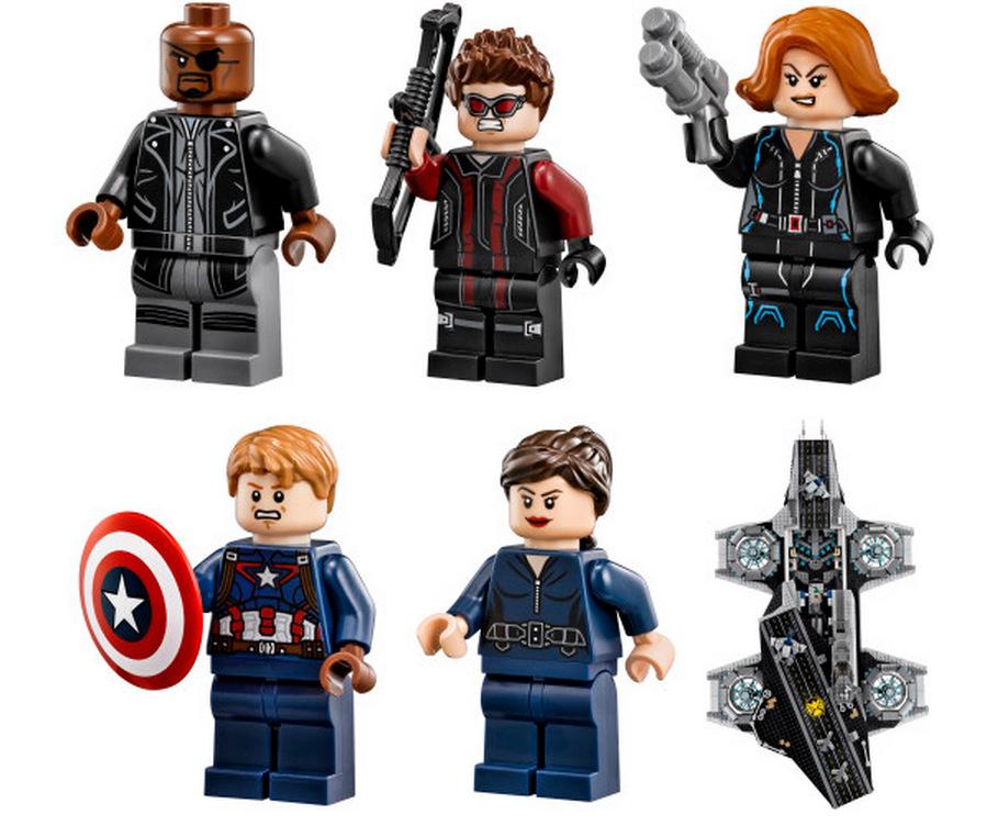 LEGO Marvel SHIELD UCS Helicarrier 76042-1 (7)
