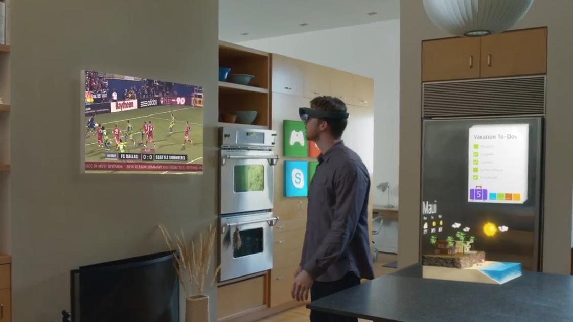 Microsoft holoLens Visor realidad aumentada Windows 10 (13)