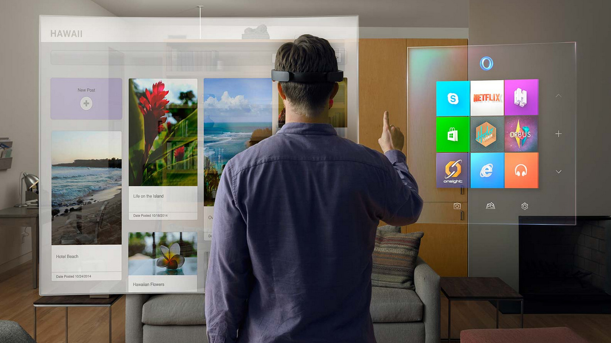 Microsoft holoLens Visor realidad aumentada Windows 10 (6)