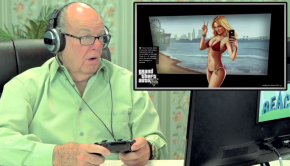 Old People React GTA V 001