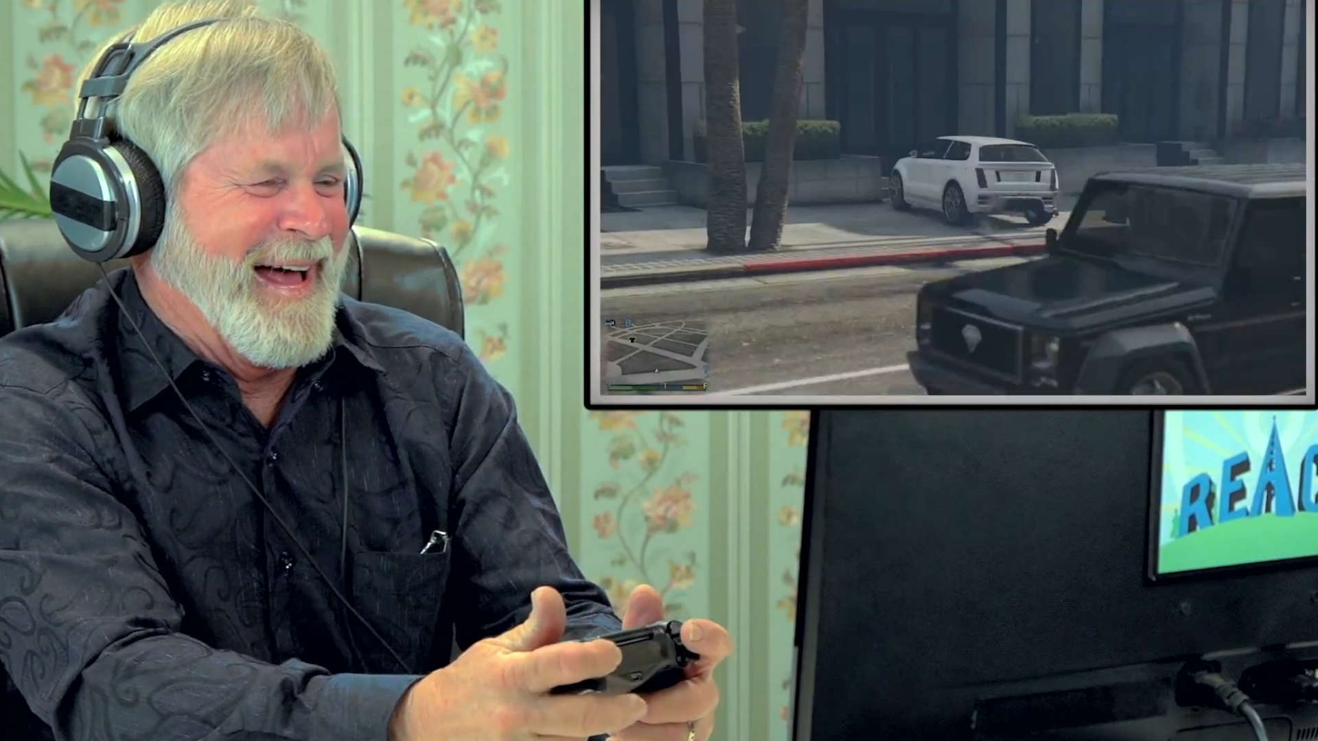 Old People React GTA V 006
