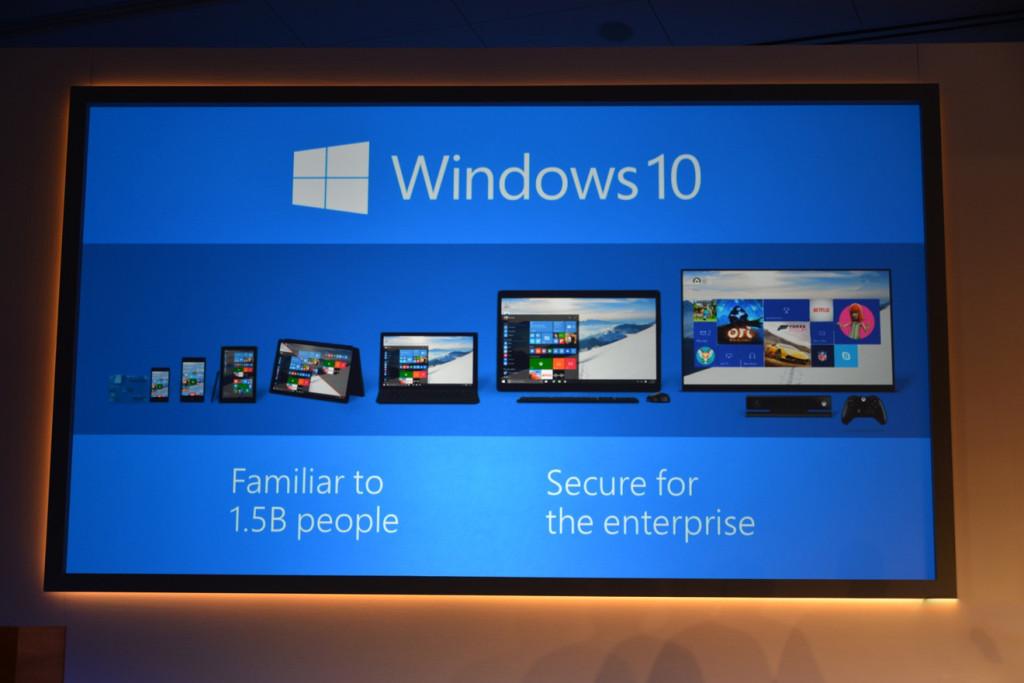 Windows 10 Familiar