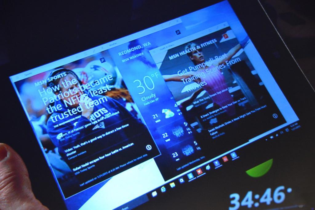 Windows 10 Tablet Mode Gestures