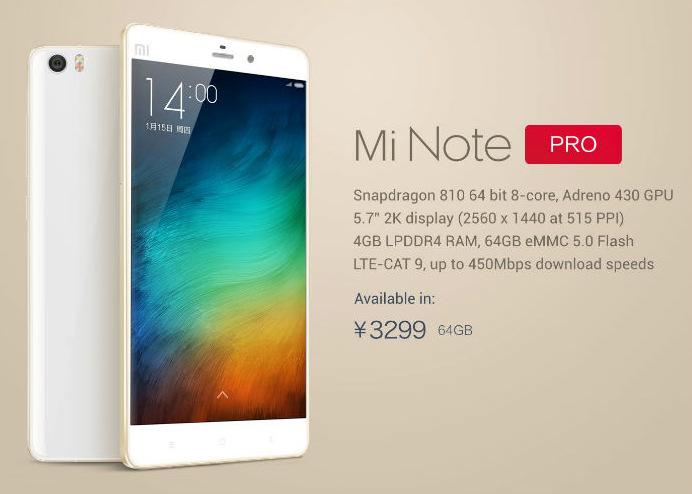 Xiaomi mi note (8)