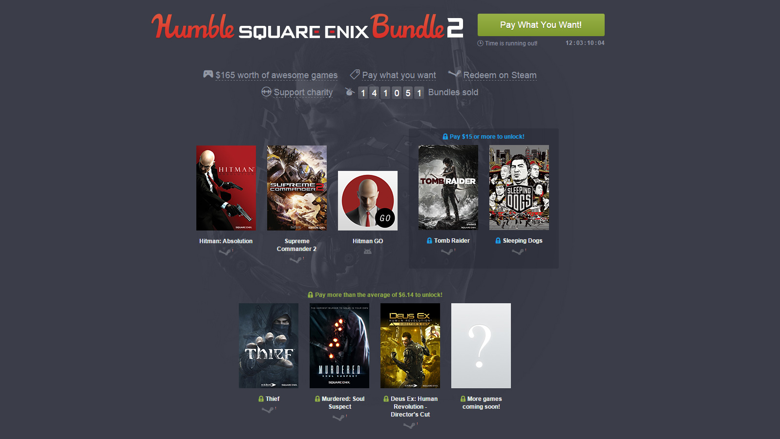 Sqaure Enix Bundle