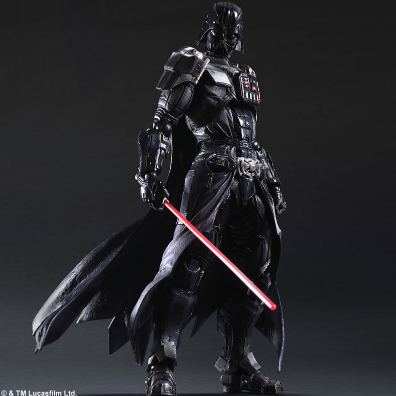 Star Wars Square Enix Boba Fett Darth Vader (3)