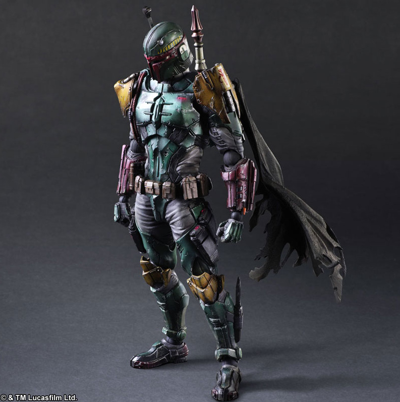 Star Wars Square Enix Boba Fett Darth Vader (9)