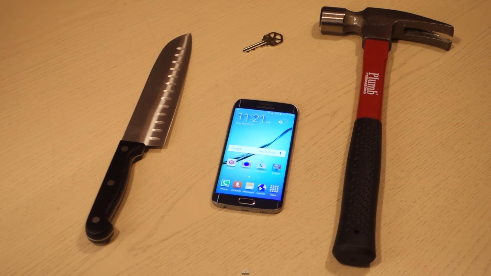 Galaxy S6 Edge test hammer (1)