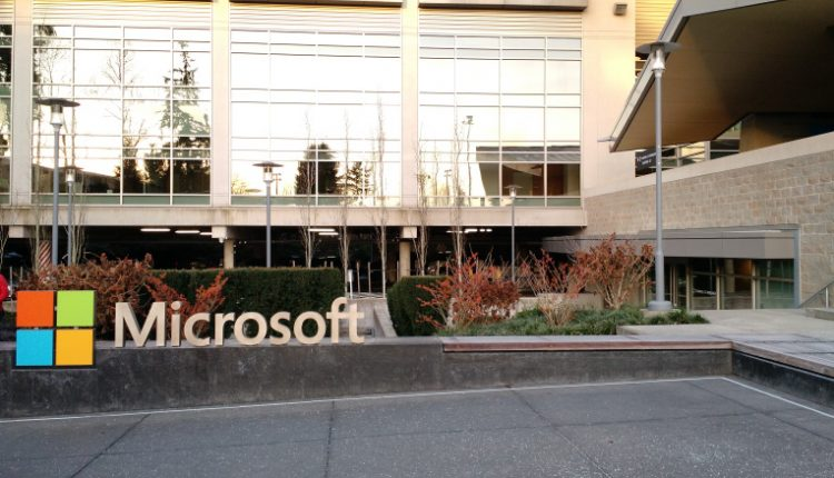 Microsoft-sign-campus