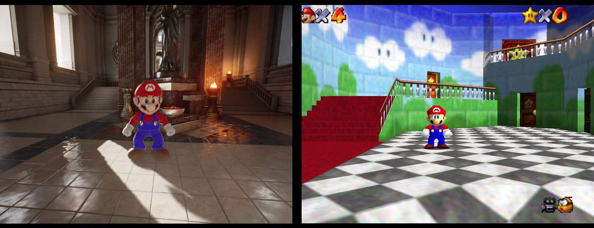 Super Mario unreal Engine 4 (3)