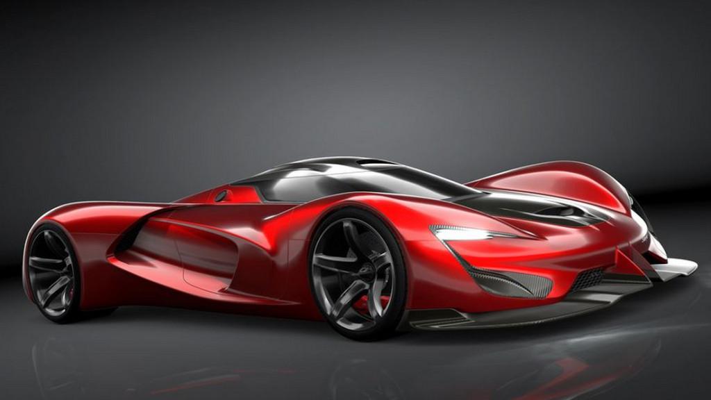 El automóvil con 2,590 caballos de fuerza que estará disponible en el 2035, pero que puedes ...