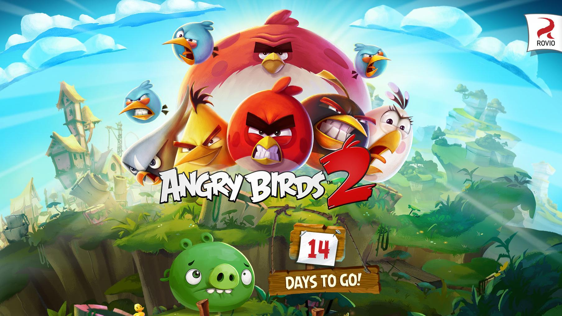 Rovio anuncia Angry Birds 2 que se lanza el 30 de julio en iOS y