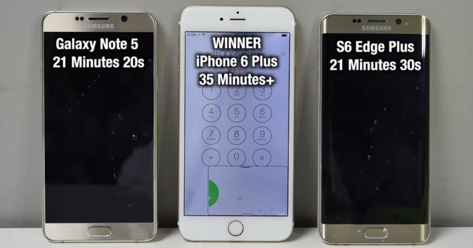 Galaxy Note 5 VS S6 Edge Plus VS iPhone 6 Plus (2)