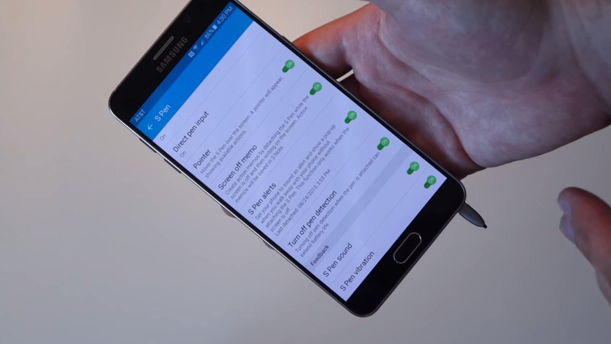 Galaxy not 5 stylus problem (5)