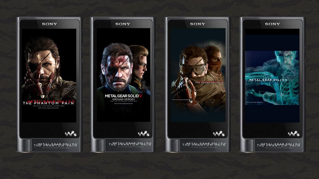 Sony Metal Gear Xperia Walkman (7)