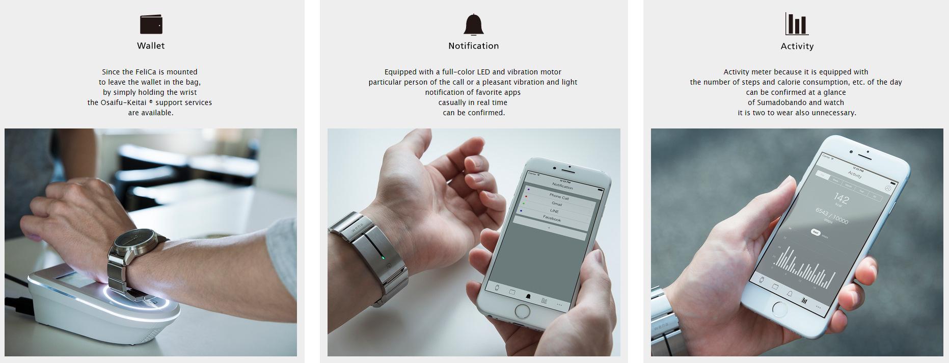 Sony smartwatch Wena (2)