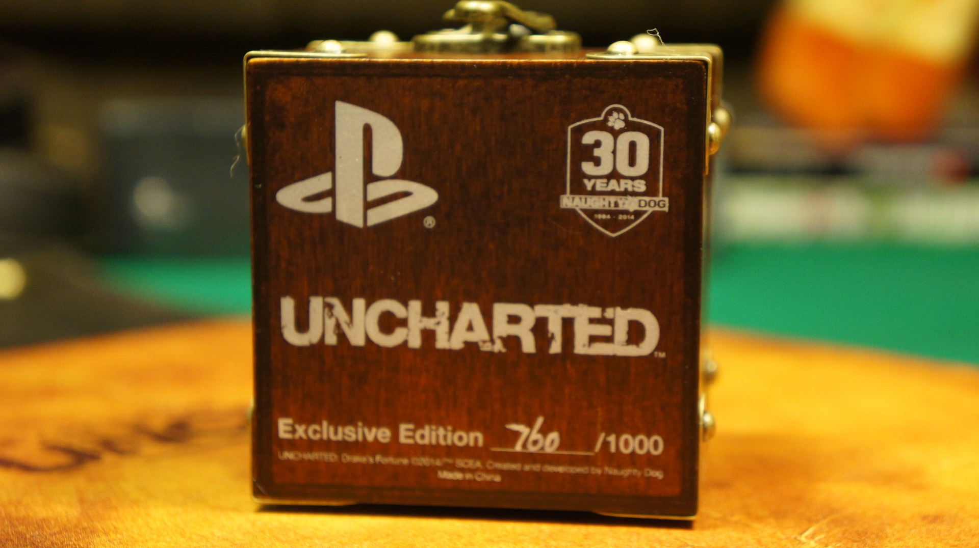 Uncharted ring anillo unboxing7