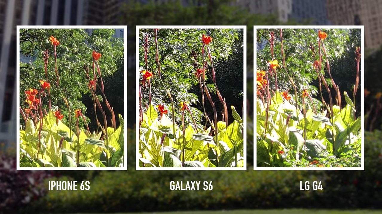 Càmara vs iphone LG Galaxy comparacion fotos