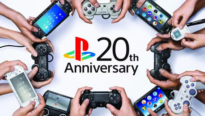 Play Station 20 años