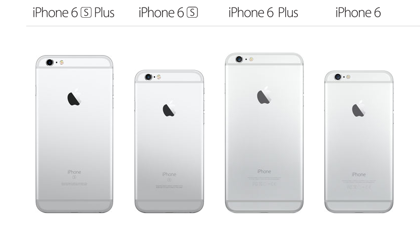 width of iphone 6 plus iphone 6s plus vs iphone 6s vs iphone 6 plus vs iphone 6 18261
