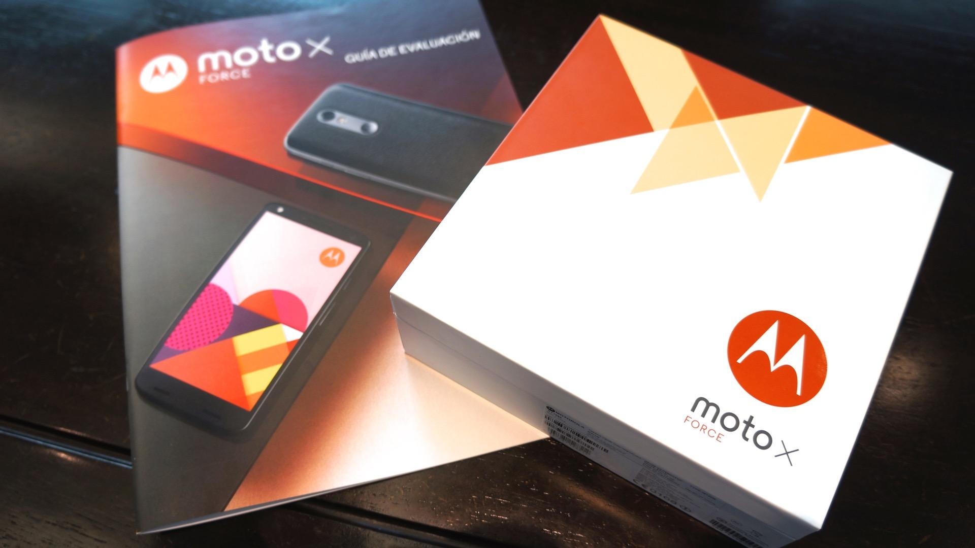 Moto X Force6