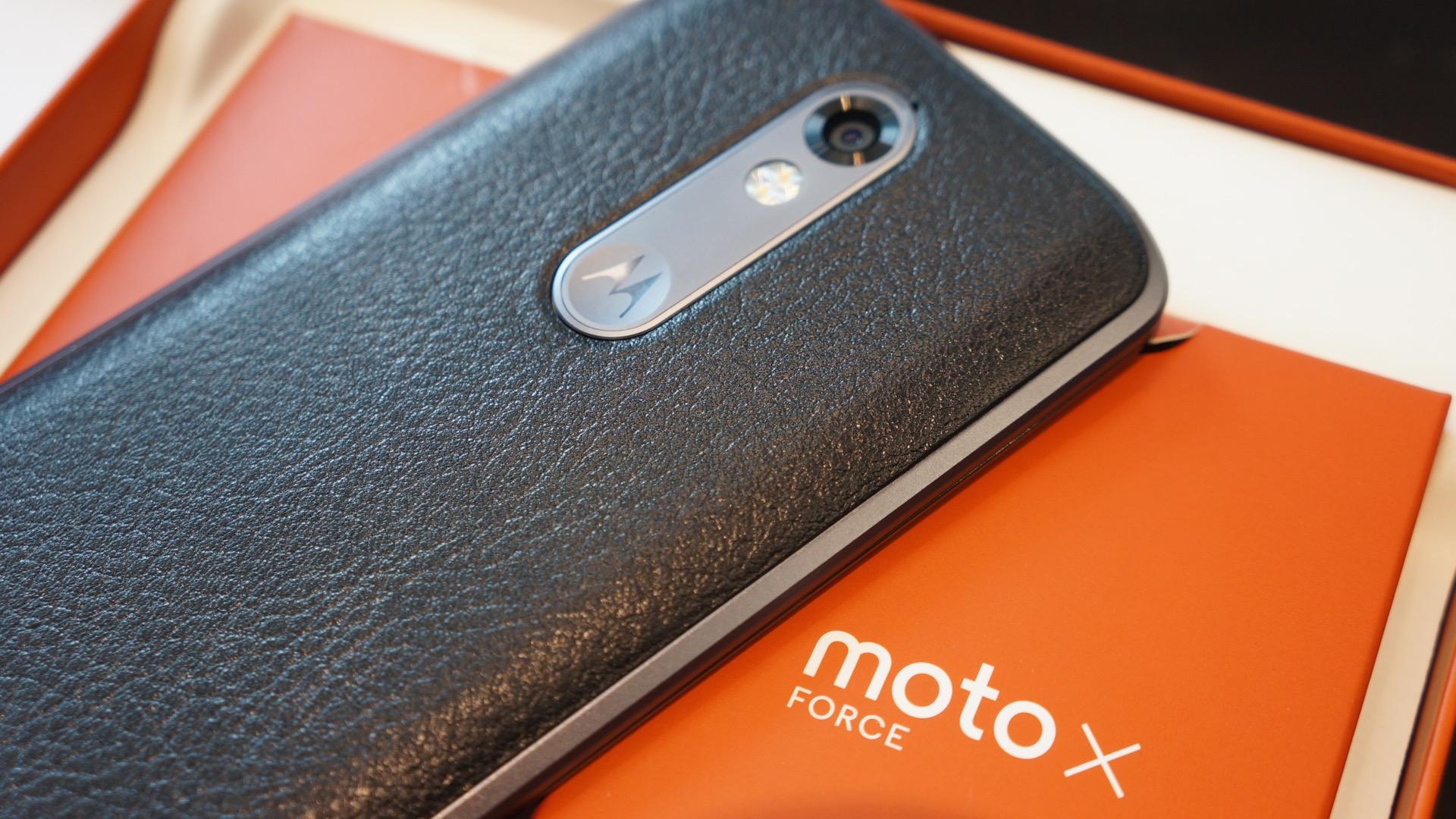Moto X Force9