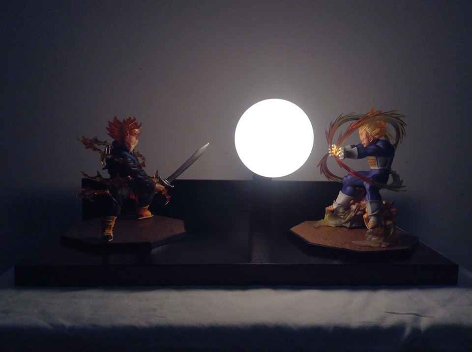 Dragon Ball Z lámpara (11)